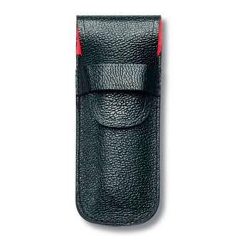 Чехол Victorinox (для ножа 84мм) 4.0669 (толщиной до 3 уровней, кожаный, чёрный)