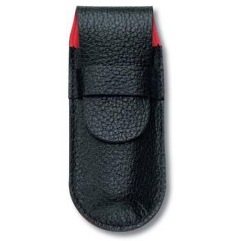 Чехол Victorinox (для ножа 91мм) 4.0738 (толщиной 2-4 уровня, кожаный, чёрный)