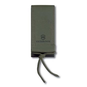 Чехол на ремень Victorinox (для ножа 111мм и SwissTool) 4.0822.4 (кожзам, зелёный)