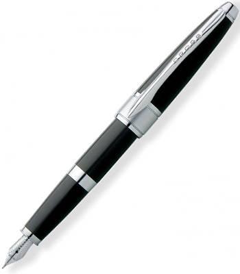 Перьевая ручка Cross Apogee Black Star Lacquer AT0126-2MD