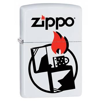 яЗажигалка Zippo 29194 Zippo White Matte