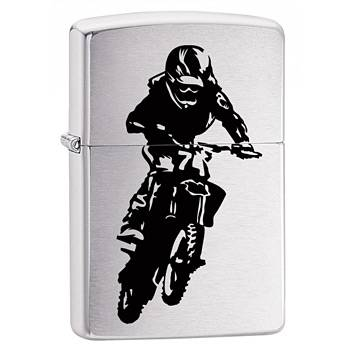 Зажигалка Zippo 29207 Motorcross Rider