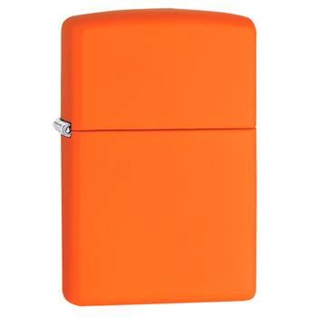 Зажигалка Zippo 231 Orange Matte