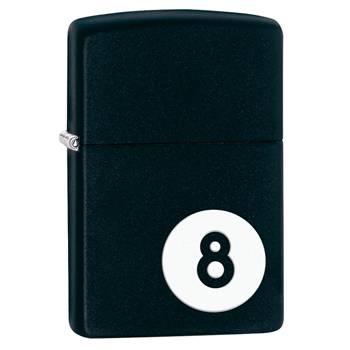 Зажигалка Zippo 28432 8-Ball Black Matte