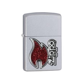 Зажигалка Zippo 28847 Zippo flame Satin Chrome