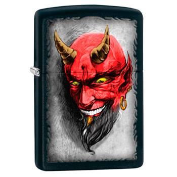 Зажигалка Zippo 28862 Devil Black Matte