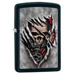 Зажигалка Zippo 28882 Steampank Skull Black Matte