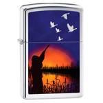 Зажигалка Zippo 29076 Duck Hunting High Polish Chrome