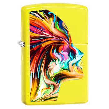 яЗажигалка Zippo 29083 Neon Yellow