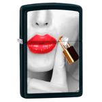 Зажигалка Zippo 29089 Red Lips Black Matte