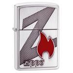 Зажигалка Zippo 29104 Z Brushed Chrome