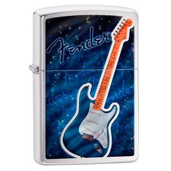 Зажигалка Zippo 29128 Fender Brushed Chrome