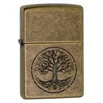 Зажигалка Zippo 29149 Tree Of Life Antique Brass