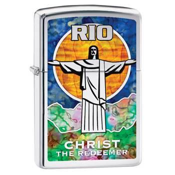 Зажигалка Zippo 29256 Christ The Redeemer Fusion