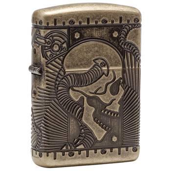 яЗажигалка Zippo 29268 Armor Antique Brass