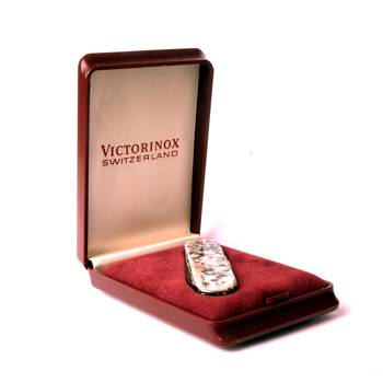 Нож Victorinox 0.6200.56 Rosa Betha, 58мм, рукоять натуральный гранит