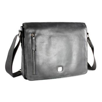 """яКожаная сумка наплечная Wenger W31-03 """"CLOUDY"""", коричневый, кожа,36х28х8 см"""