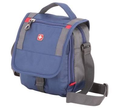 Сумка Wenger 1092343003  синий/серый 15х5х22 cm