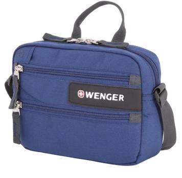 Сумка дорожная для документов Wenger 1832343010 синий 23x5x18cm