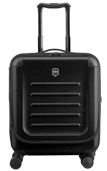 Чемодан Victorinox 31318101 Spectra™ Dual-Access 2.0, чёрный, поликарбонат Bayer, 41x24x55 см, 37 л