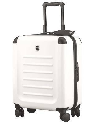 Чемодан Victorinox 31318302 Spectra™ Dual-Access 2.0, белый, поликарбонат Bayer, 41x24x55 см, 42 л