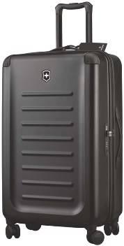 Чемодан Victorinox 31318501 Spectra™ Dual-Access 2.0, чёрный, поликарбонат Bayer, 47x27x75 см, 70 л