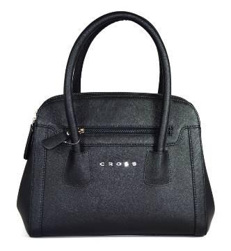 Женская сумка Cross AC981139 кожа, цвет чёрный, 32 x 16 x 28 см