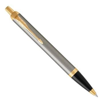 Parker IM Metal 2017 K321 Brushed Metal GT шариковая ручка 1931670