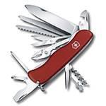 Нож Victorinox 0.8564 WorkChamp 111мм, красный