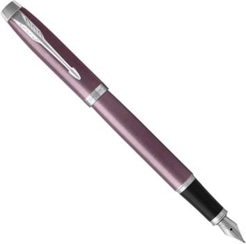Parker IM Metal 2017 F321 Light Purple CT перьевая ручка1931632