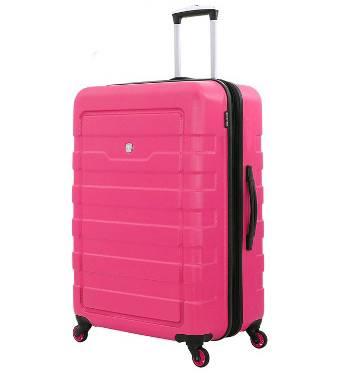 Чемодан Wenger 6581838177 TRESA, розовый, АБС-пластик, 48x30x69 см, 100 л.