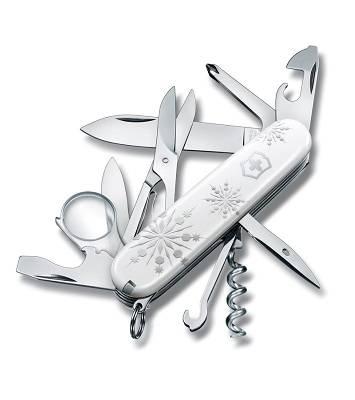 Нож Victorinox 1.6703.77 Explorer White Christmas SE 2017