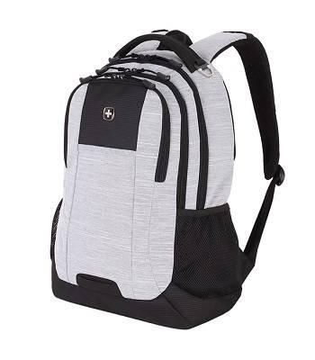 """Рюкзак Wenger 5505402419 серый,  с отделением для ноутбука 18"""",34,3x17,8x47 см, 26 л"""