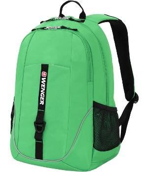Рюкзак Wenger 6639662408 зеленый , 33x16,5x46см, 26л
