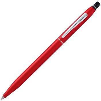 Шариковая ручка Cross Click Crimson AT0622S-119 в блистере с доп. стержнем