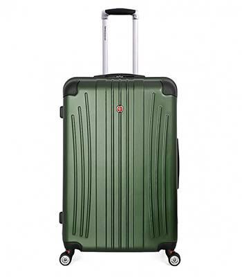 Чемодан Wenger 6171646175 Ridge зелёный, АБС-пластик, 47х30,5х75 см , 92л