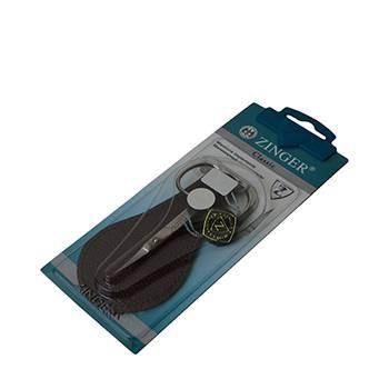 Ножницы маникюрные кутикульные Zinger zo-B-118-D-SH-N1S в чехле