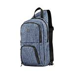 Рюкзак Wenger 605031 с одним плечевым ремнем, синий 19x12x33см, 8 л