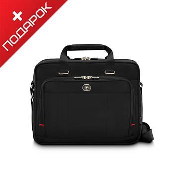 65d8616ef3e2 Портфель Wenger 600645 для ноутбука 16'' чёрный, 41х15х34 см, 12 л ...