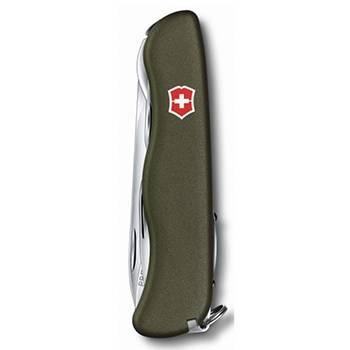 Нож Victorinox 0.8363.4 Forester 111мм, зелёный