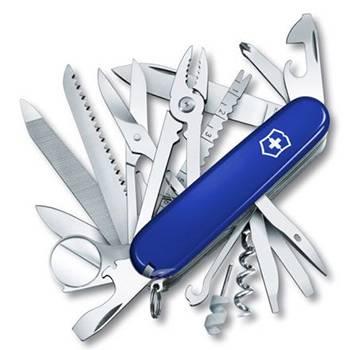 Нож Victorinox 1.6795.2 SwissСhamp, 91мм, синий