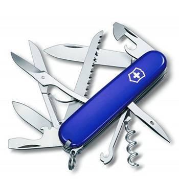 Нож Victorinox 1.3713.2 Huntsman офицерский, 91мм, синий