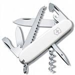 Нож Victorinox 1.3613.7 Camper офицерский, 91мм, белый
