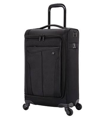 Чемодан Wenger 6067202147 Getaway черный, полиэстер 35x20x63 см, 44 л