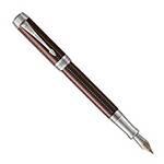 Перьевая ручка Parker Duofold F307 Prestige Centennial Burgundy Chevron CT 1945418