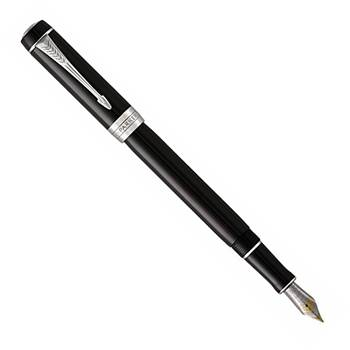 Перьевая ручка Parker Duofold F74 International Black CT(1931387)