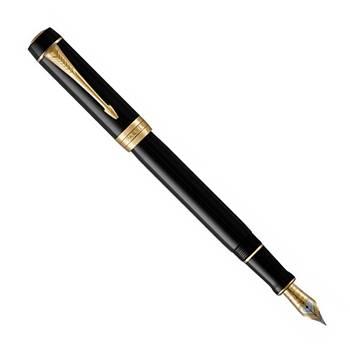 Перьевая ручка Parker Duofold F77 Centennial Black GT(1931381)