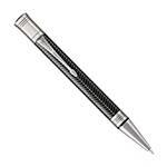 Шариковая ручка Parker Duofold K307 Prestige Black Chevron CT (1945414)