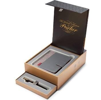 Набор Parker Sonnet LaqBlack GT Перьевая ручка F530 GT с органайзером (1978407)