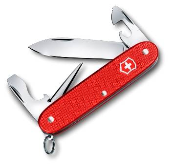 Нож Victorinox 0.8201.L18 Pioneer Alox, 93 мм, красный